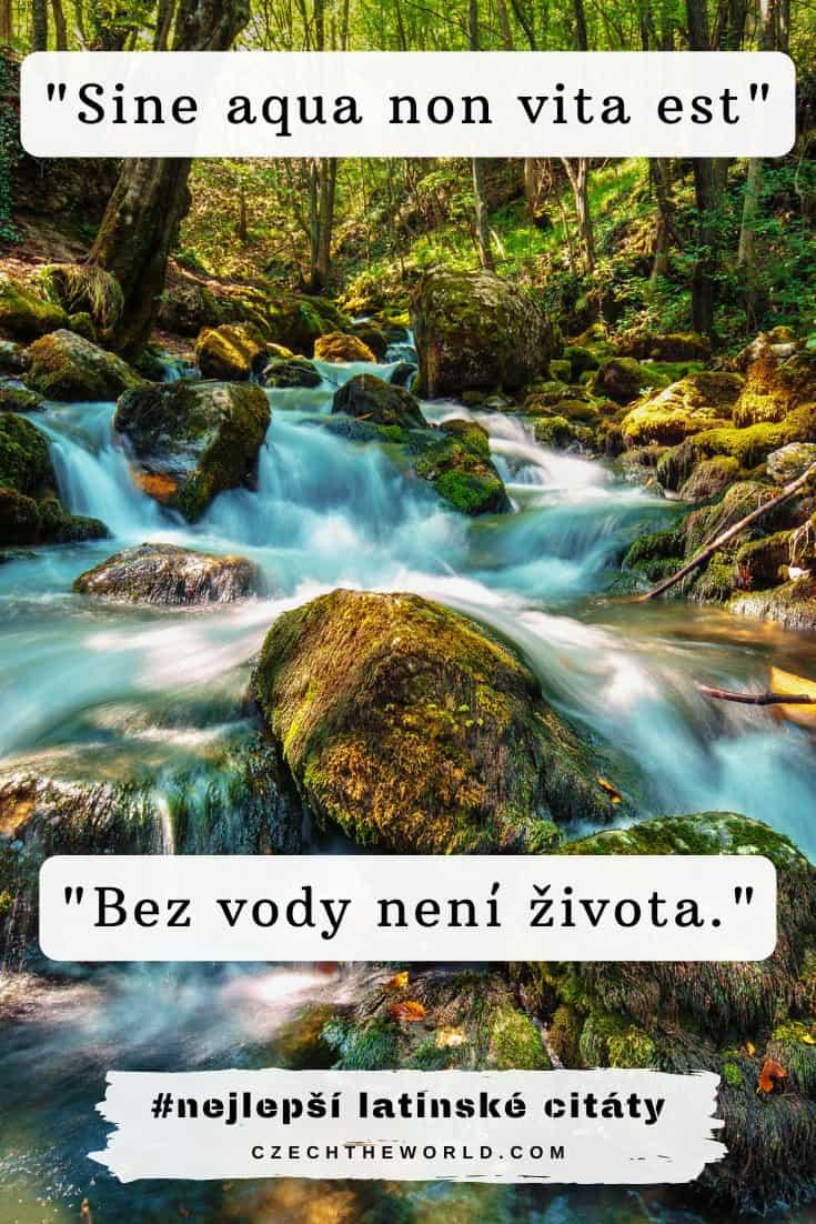 Latinské citáty o přírodě
