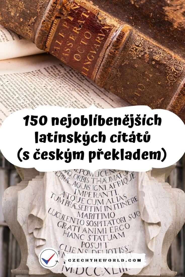 Nejlepší latinské citáty