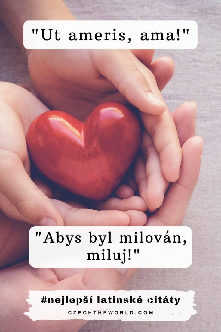 Latinské citáty o lásce
