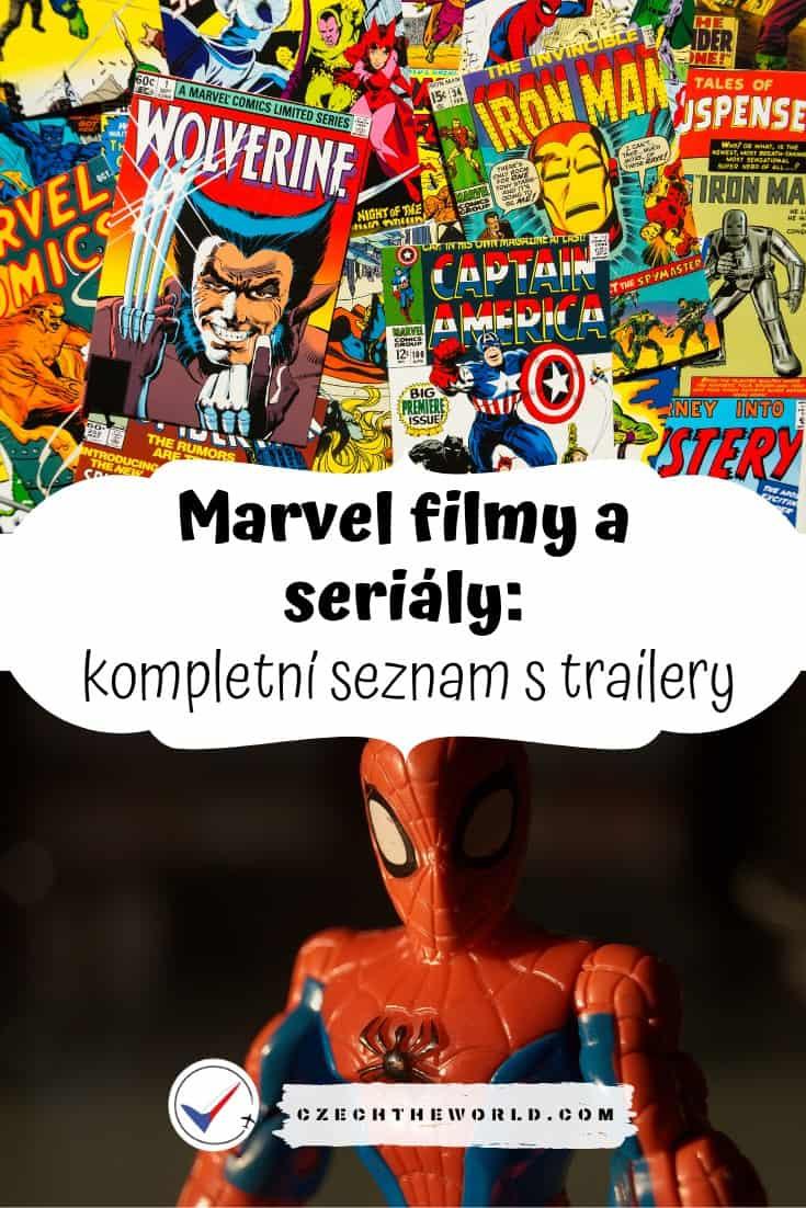 Marvel filmy a seriály - kompletní seznam s trailery (1)