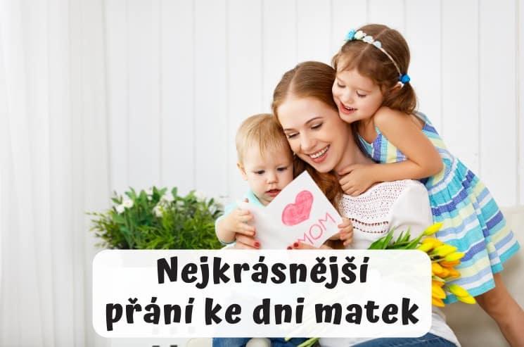 Nejkrásnější přání ke dni matek