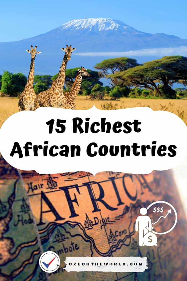 15 Richest African Countries