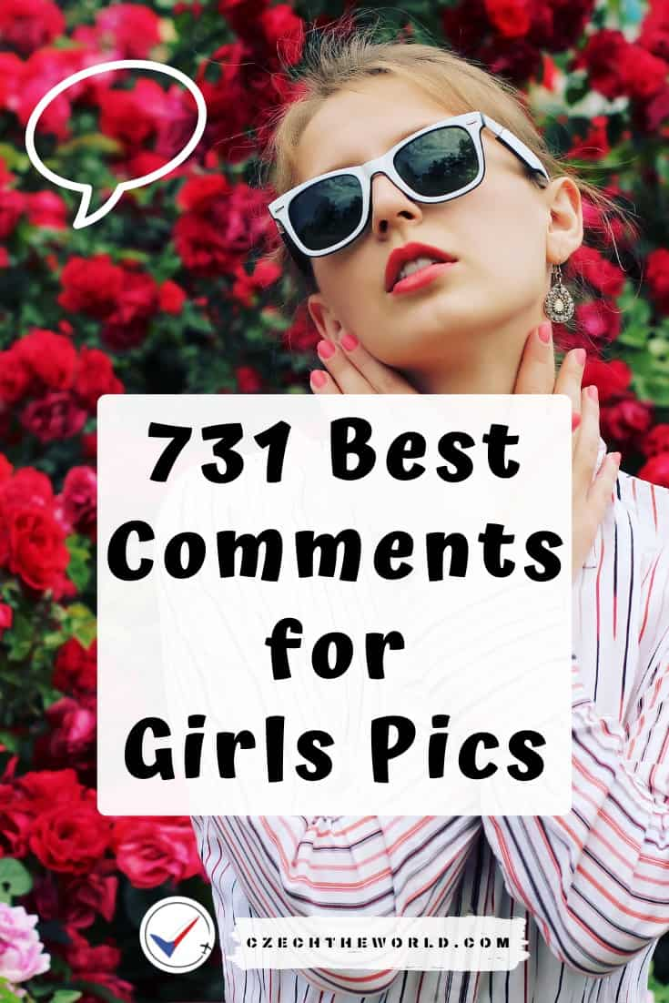 Best Comments for Girls Pictures Instagram Facebook