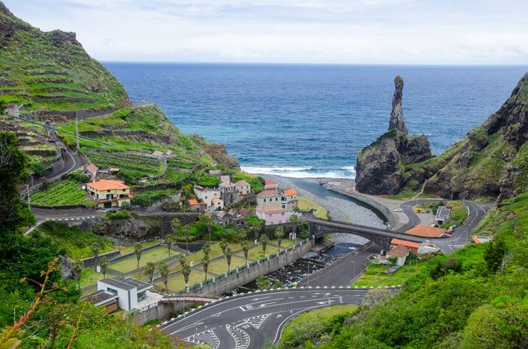 Ribeira da Janela - Přechod Madeiry - trek