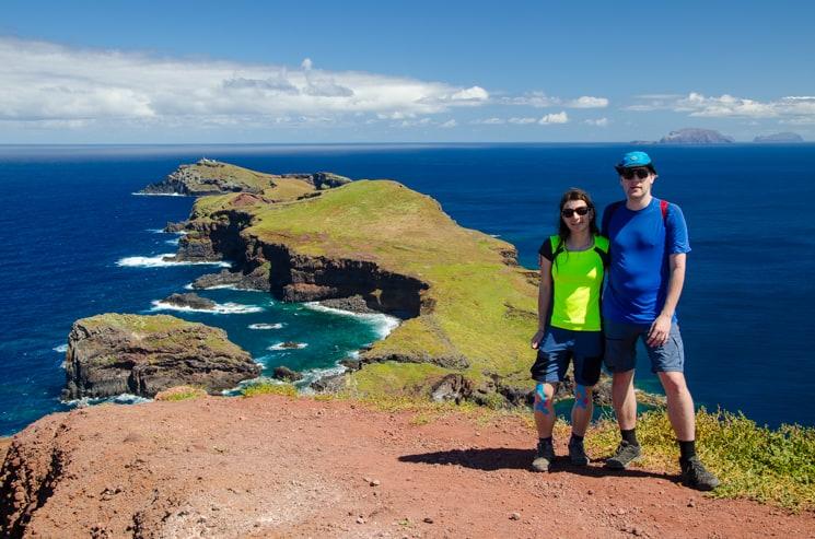 Madeira trek - Poloostrov Sao Lourenco Nejvýchodnější vyhlídka na poloostrově Sao Lourenco
