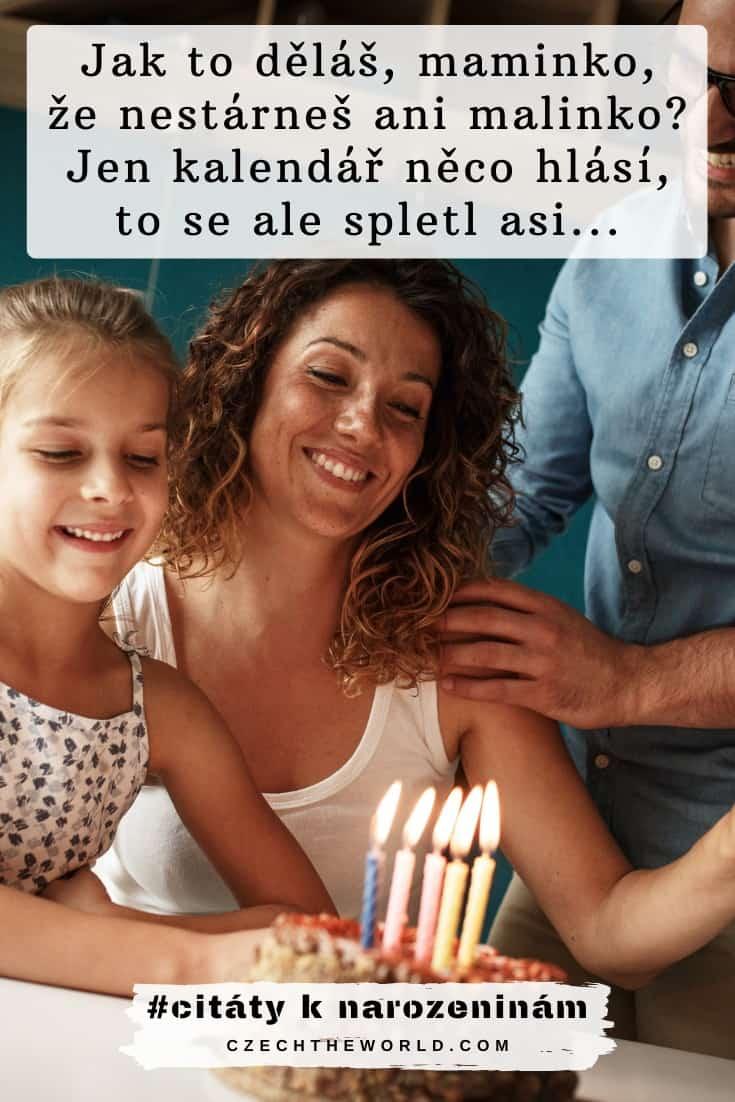 Vtipné citáty o narozeninách