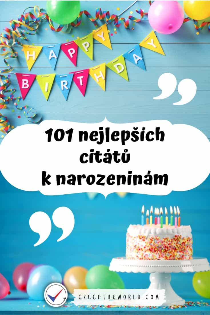 Citáty k narozeninám: 101 nejlepších (krásné, vtipné, známé) 1