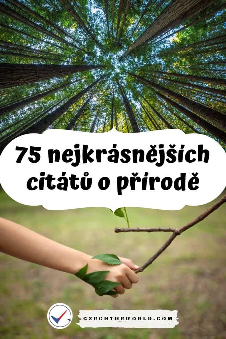 Citáty o přírodě
