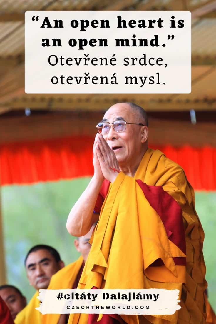 Dalajlámovy citáty v angličtině (s překladem)