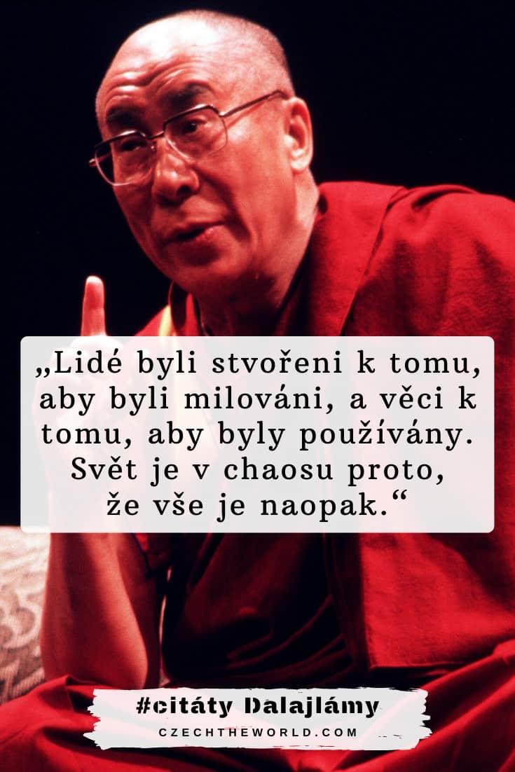 Dalajlámovy citáty o lidech