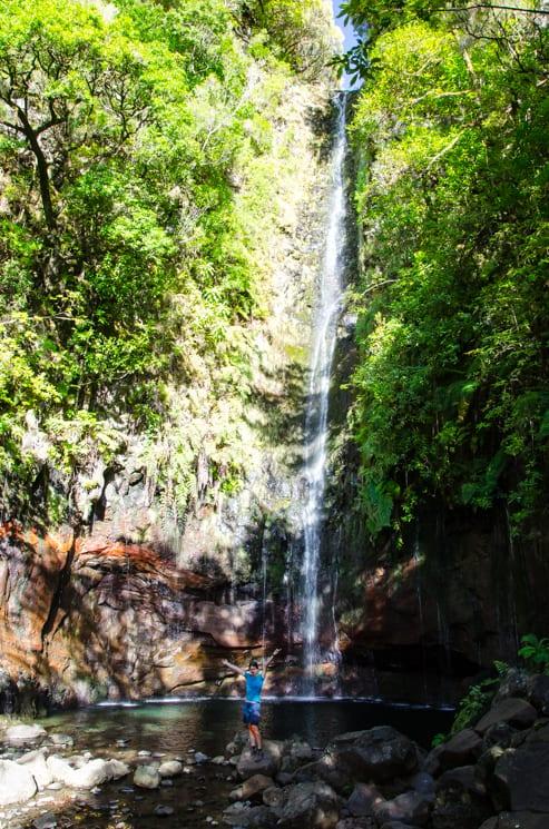 25 fontán – leváda a vodopád