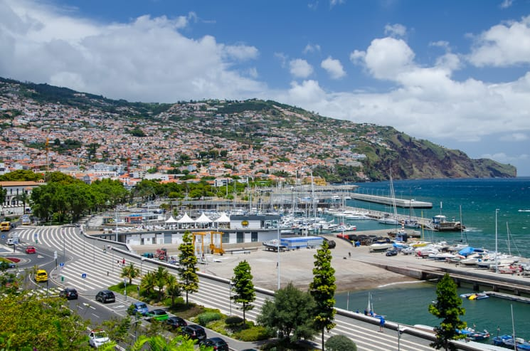 Funchal - místa na Madeiře