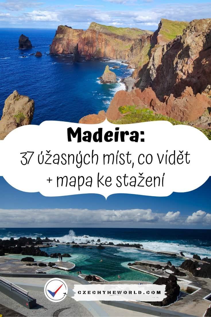 Madeira místa co vidět