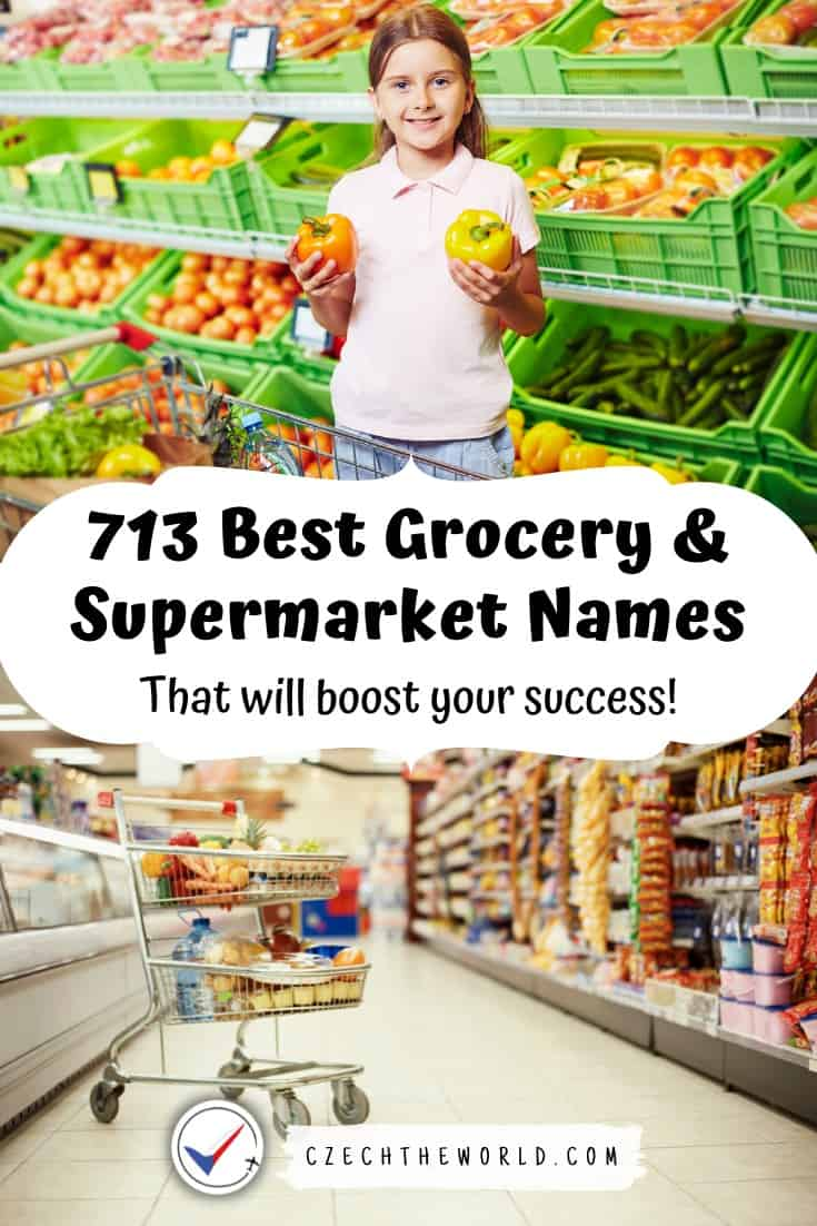 Best Supermarket and Grocery store names