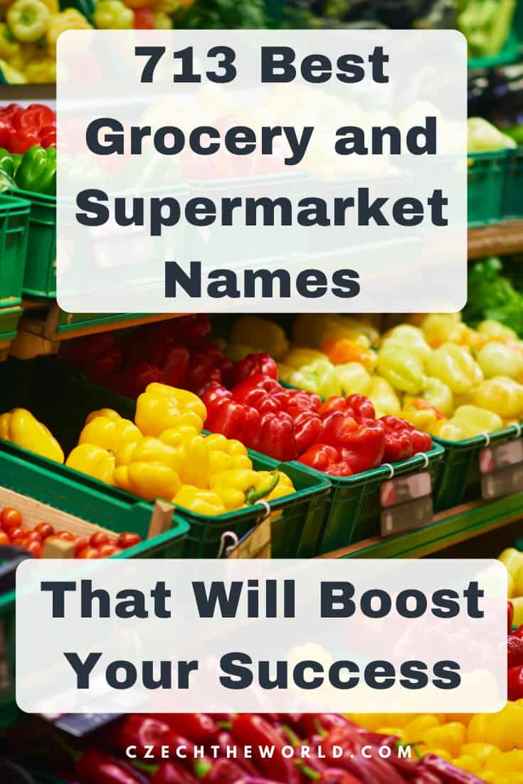 713 Best Grocery & Supermarket Names to Boost Your Success 1