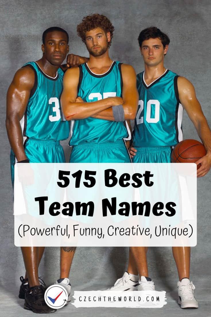 Powerful Team Names