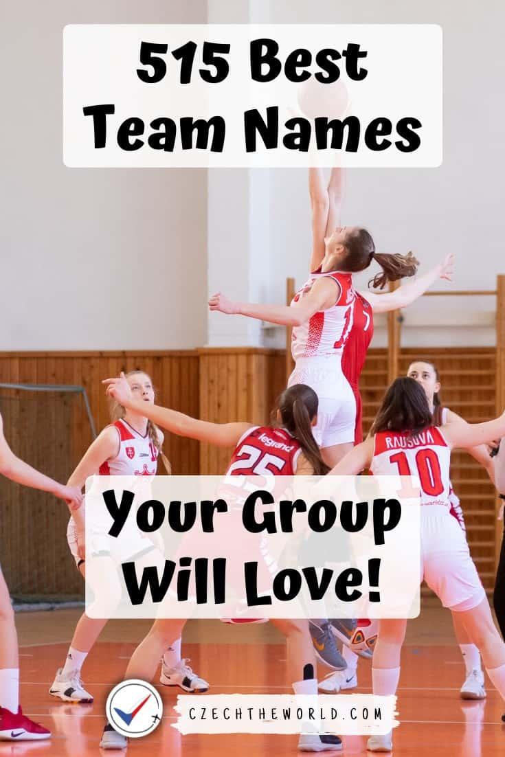 Names for Girl's Teams