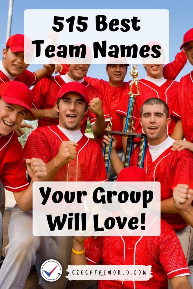 Unique Team Names