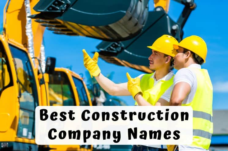 397 Best Construction Company Names to Boost Your Success