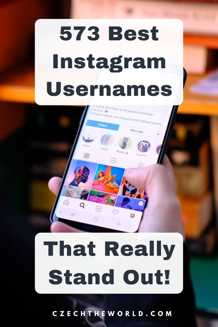 573 Best Instagram Usernames That Absolutely Stand Out 1