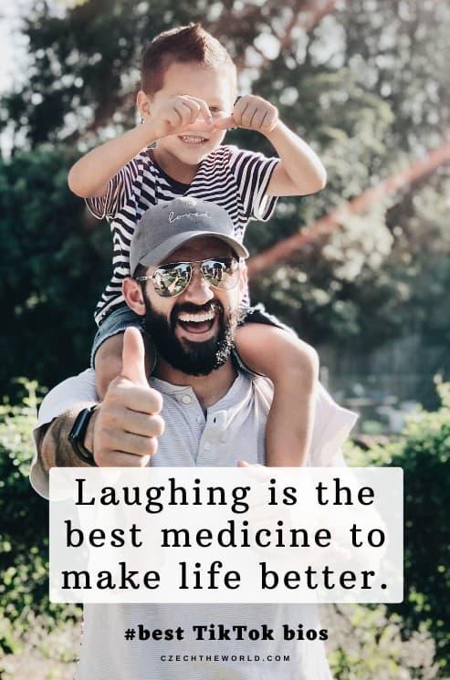 Happy & Laugh TikTok Bio Quotes
