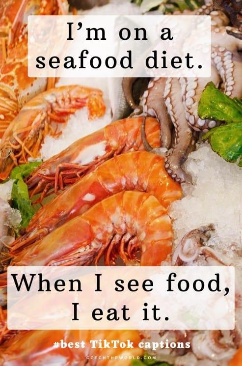 Food & Drinks TikTok Captions