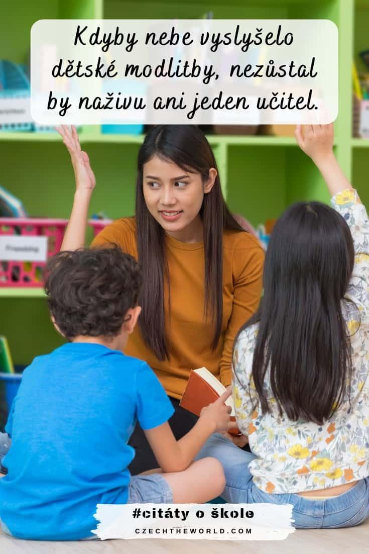 Vtipné citáty o škole a učení