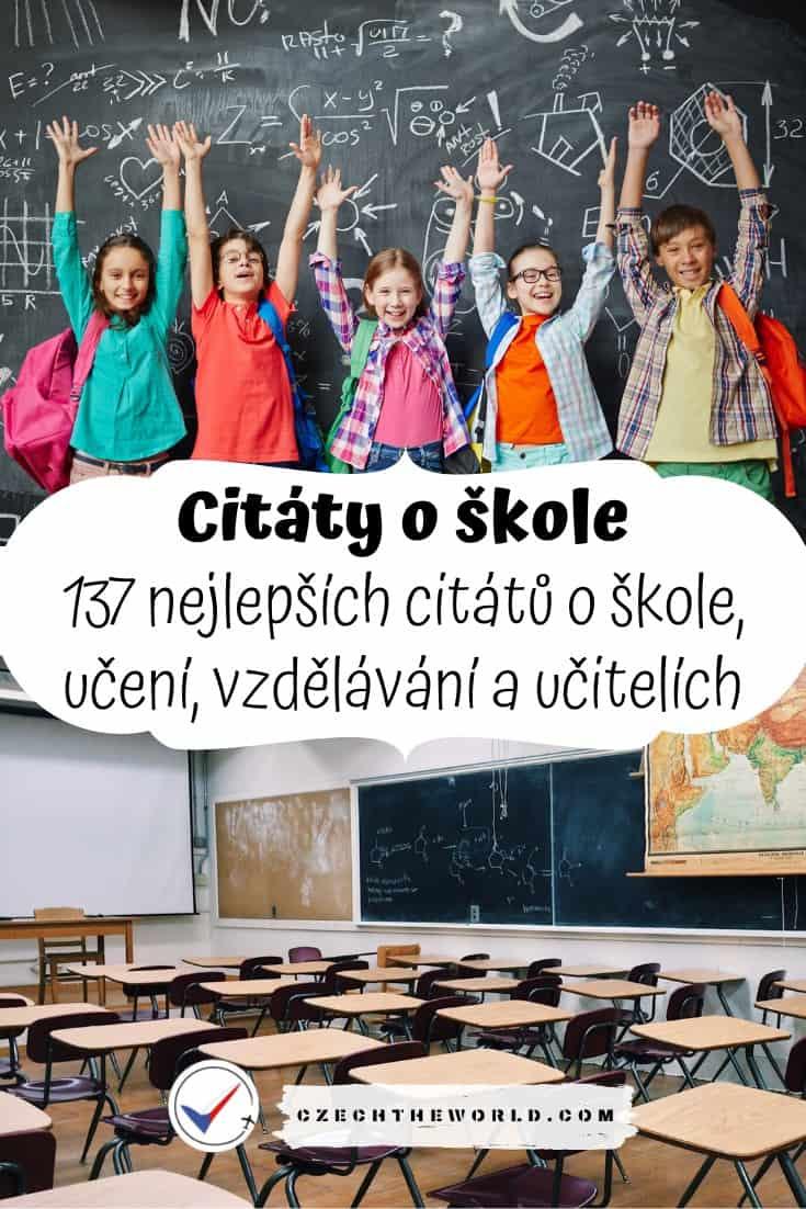 Citáty o škole a vzdělání