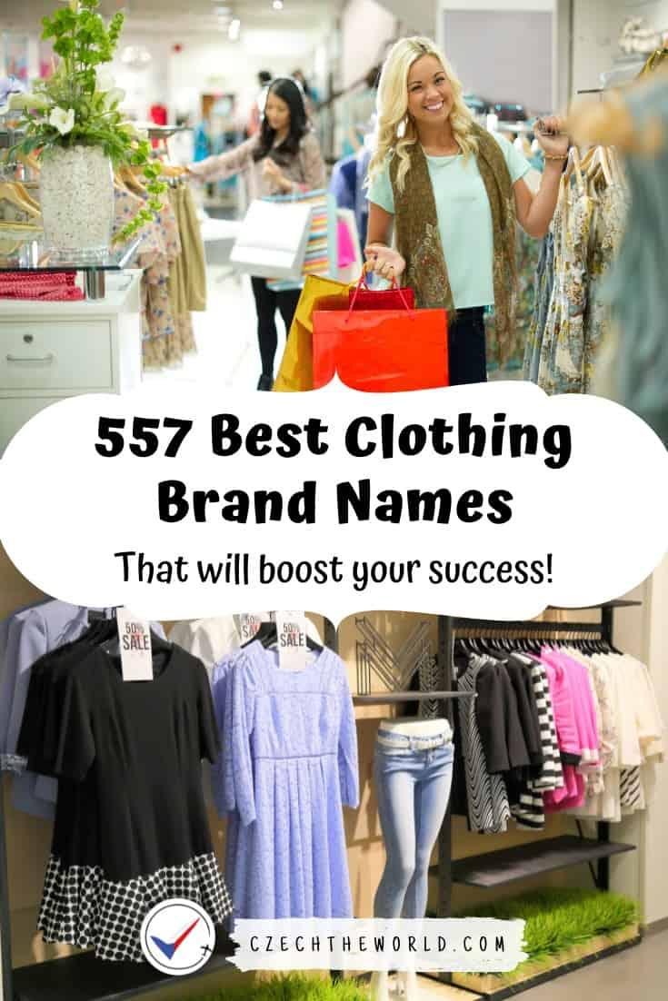 Clothing Brand Names (2)