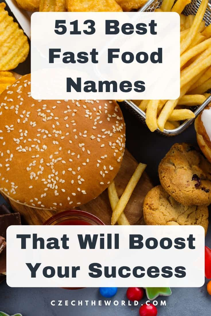 513 Best Fast Food Names to Boost Your Business Success 1