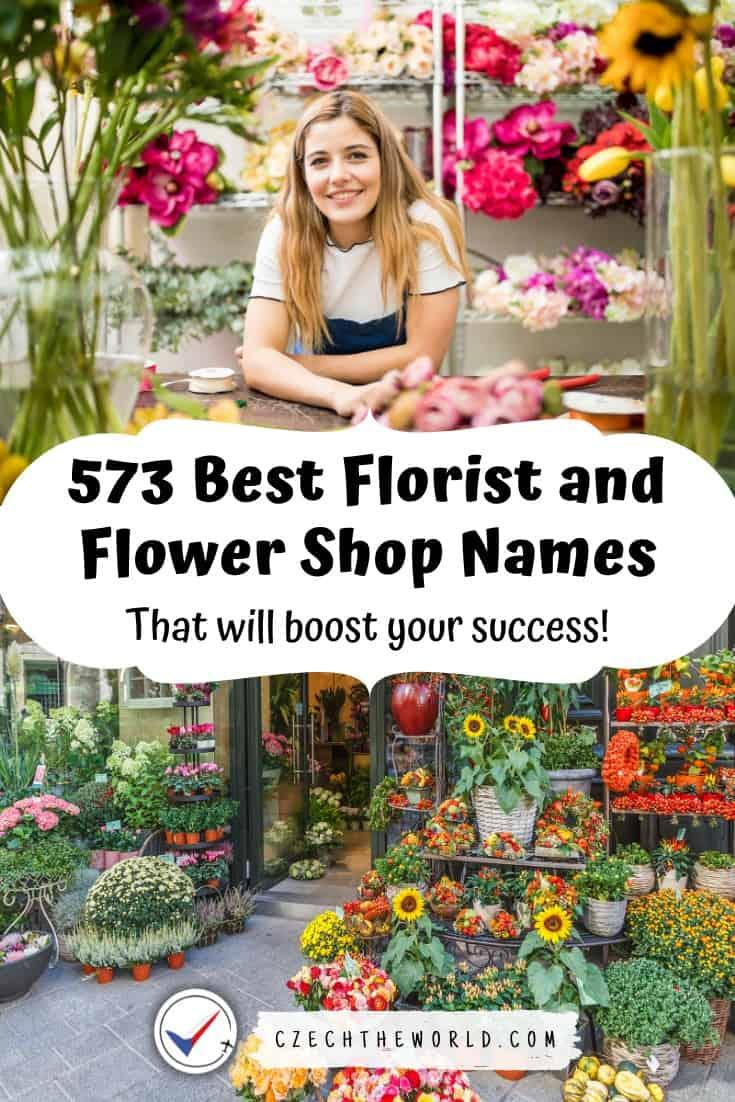 Florist and Flower Shop Names