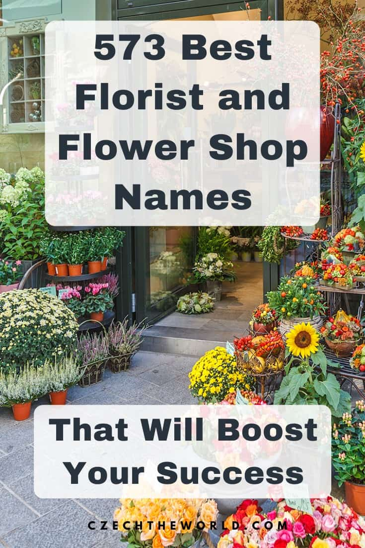 573 Best Flower Shop and Florist Names to Boost Your Success 1