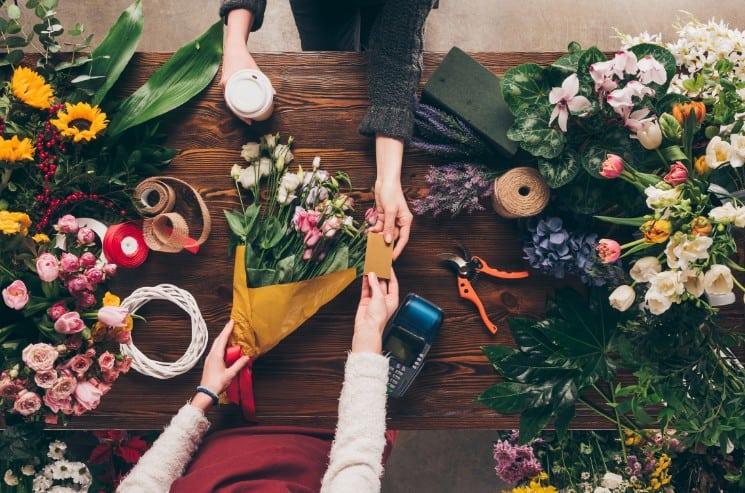 Romantic Flower Shop and Florist Names