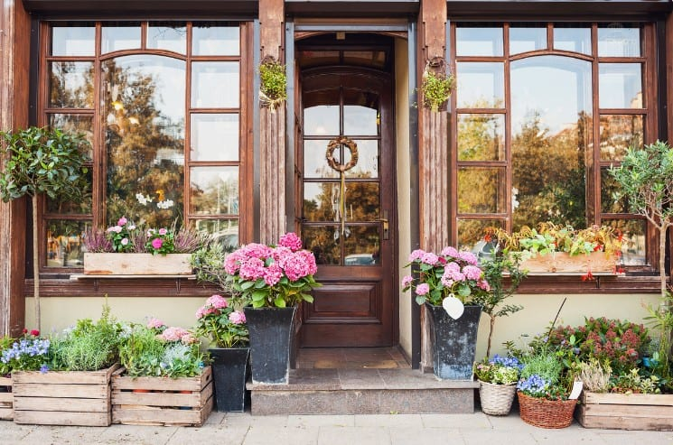 French Flower Shop and Florist Names