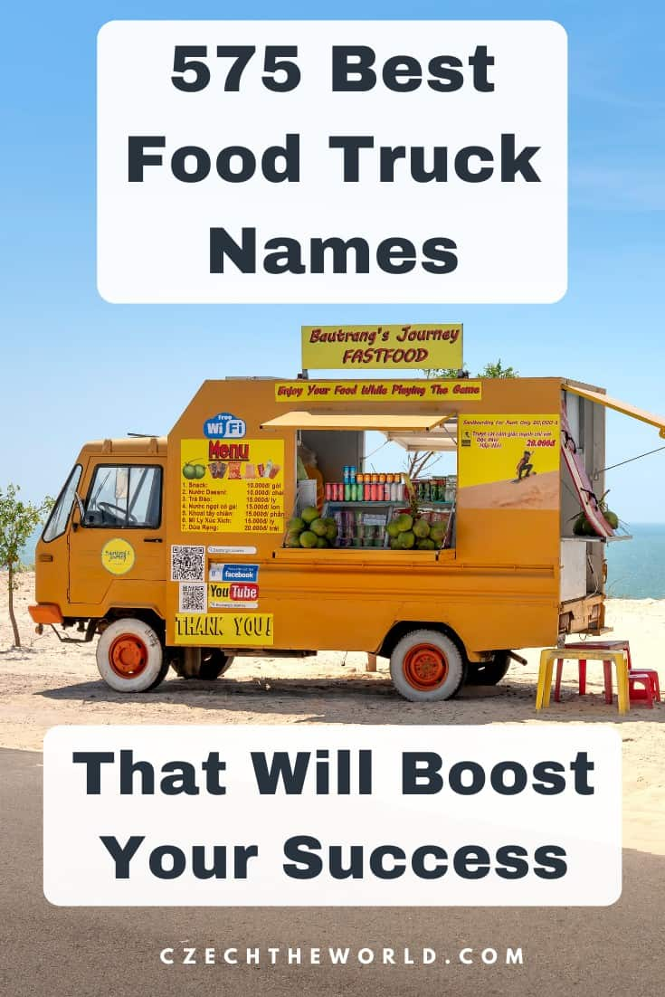 575 Best Food Truck Names to Boost Your Business Success 1