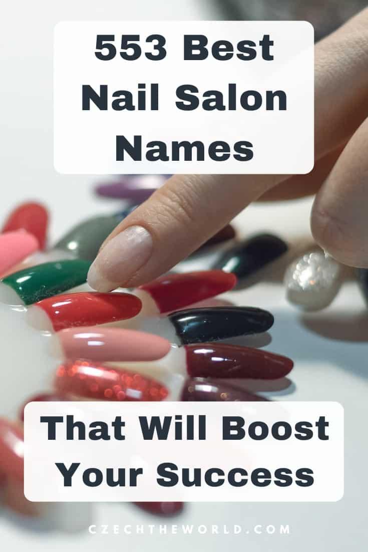 Nail Salon Names