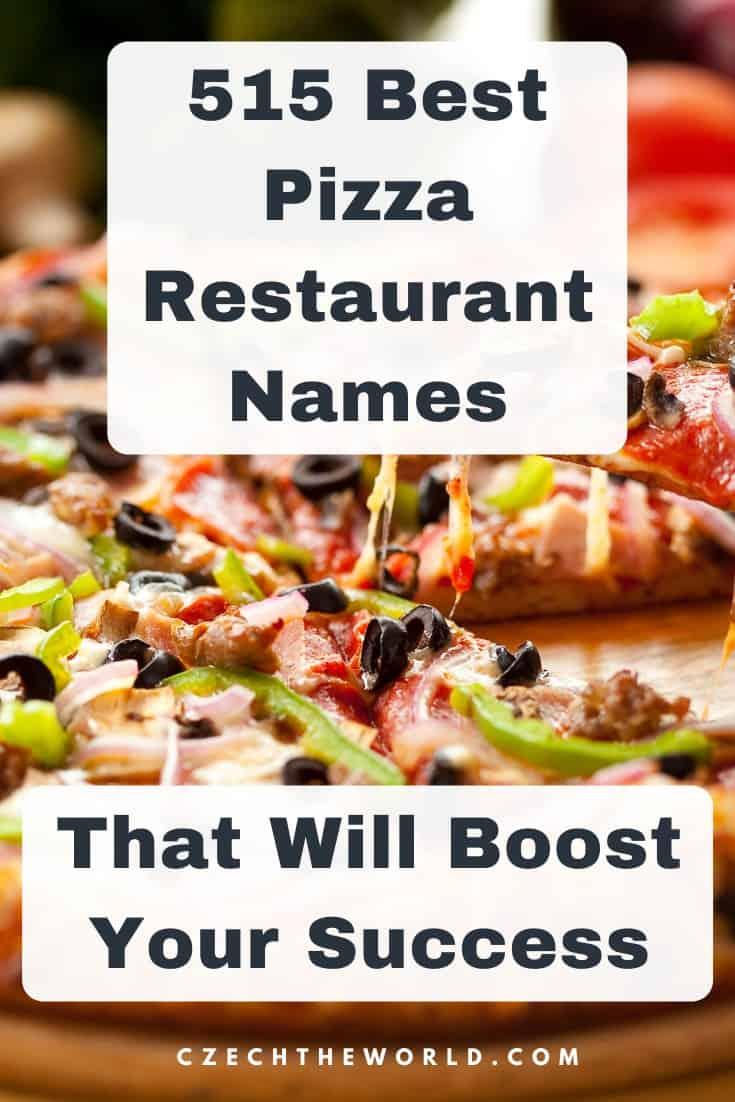 Pizza Names