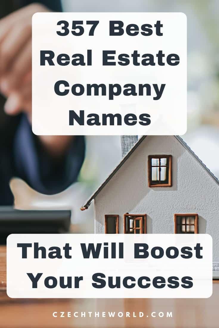 Realty Company Names