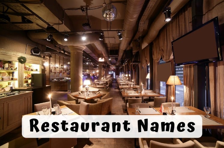 573 Best Restaurant Names to Boost Your Business Success
