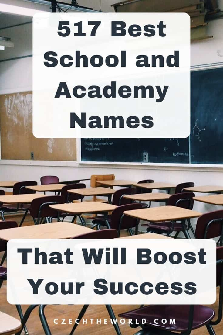 517 Best School and Academy Names to Boost Your Success 1