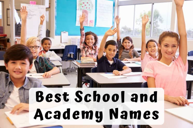 School and Academy Names