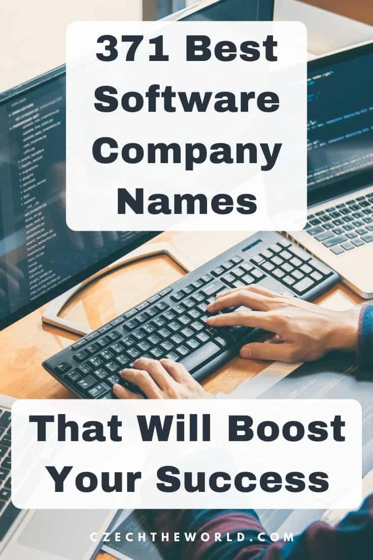 Tech Company Names