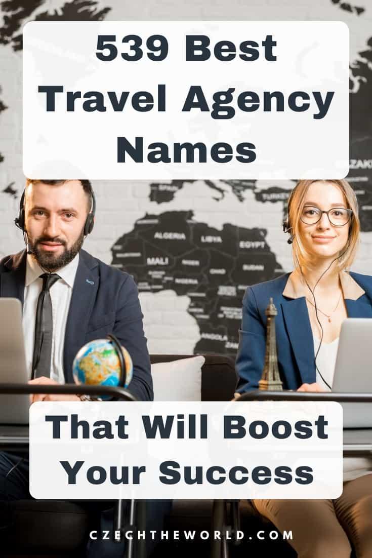 Travel Agency Names