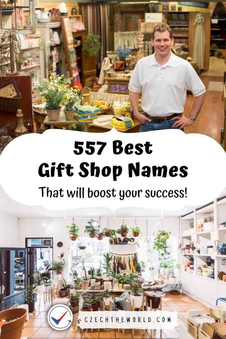 Best Gift Shop Names
