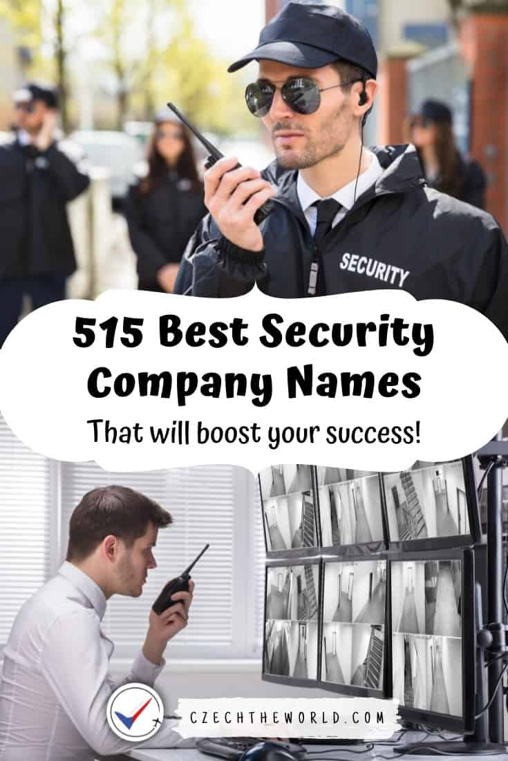 515 Best Security Company Names that will Boost Your Success 1